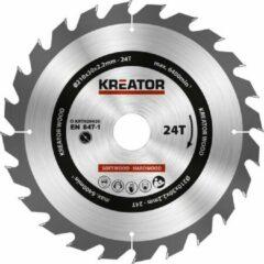 Kreator KRT020420 Zaagblad hout 210 mm - 24T