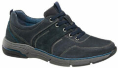 Gallus Heren Donkerblauwe nubuck sneaker - Maat 40
