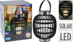 Home & Styling - Solar buitenlamp lantaarn - LED windlicht kaars
