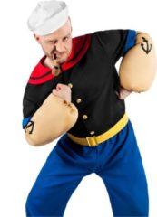 Metamorph GmbH - Klassiek Popeye kostuum voor volwassenen - L - Volwassenen kostuums