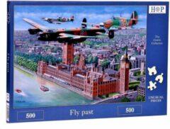 House Of Puzzles Fly Past Puzzel 500 stukjes