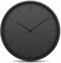 Huygens - Tone Index 45cm - Zwart - Wandklok - Stil - Quartz uurwerk