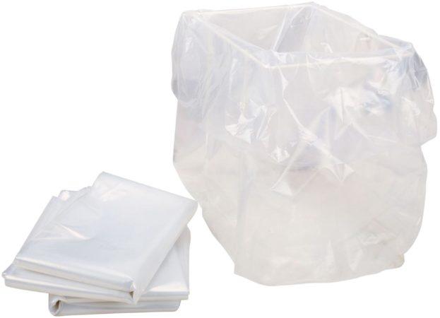 Afbeelding van HSM opvangzakken voor papiervernietiger Securio B24 en AF150, pak van 100 zakken