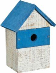 Relaxdays decoratie vogelhuisje - hangend - tuindecoratie - vogelhuis - decoratief huisje