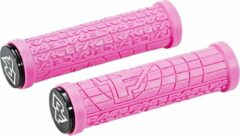 Roze Race Face Grippler handvatten, magenta Diameter 33mm