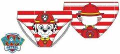 Rode Paw Patrol zwembroek - maat 98 - Marshall zwembroekje