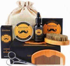 Oranje Difco® Baard Verzorging Set – Baardolie – Baardgroei – Baardkam - Nieuwste Ontwerp 2020 - Inclusief E-book