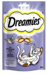 Dreamies Kattensnoepjes - Eend - 60 gram
