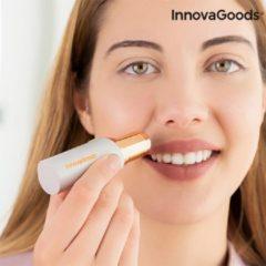 Witte InnovaGoods Wellness Beauté Pijnloze Gezichtsepilator met LED