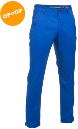 Afbeelding van Blauwe Under armour AG Match Play Tapered Pant - Kobalt