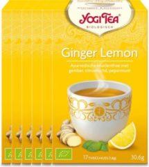 Yogi Tea Ginger Lemon Voordeelverpakking