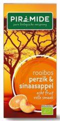 Piramide Rooibos perzik sinaasappel thee 20 Stuks