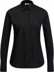 Zwarte WE Fashion Dames overhemdblouse