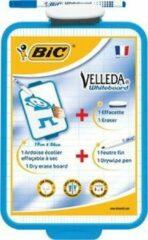 Whiteboard Bic Velleda 19x26cm + stift + wisser