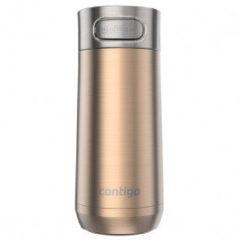 Witte Contigo Luxe geïsoleerde drinkfles - White zinfandel copper - 360ml