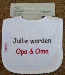 """Funnies Slab met """"Jullie worden Opa & Oma"""""""