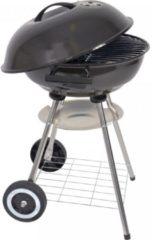 Zwarte BBQ XL Houtskoolbarbecue - Ø 46 cm. + Brikettenstarter