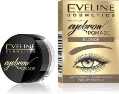 Eveline Cosmetics Eveline - Eyebrow Pomade Pomade Pomada To Eyebrow Blonde