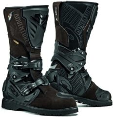 Zwarte Sidi Adventure 2 Gore-Tex Black Brown Motorcycle Boots 42