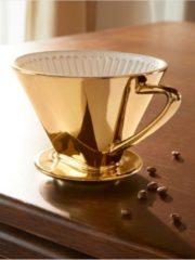 Cilio Kaffeefilter Gr. 4, goldfarben Cilio goldfarben/weiß