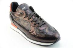 Floris van Bommel Vrouwen Sneakers - 85312 - Brons - Maat 40