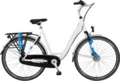 28 Zoll Damen City Fahrrad 7 Gang Hoopfietsen... weiß, 52cm