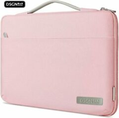 DSGN Laptoptas met Handvat 13 inch - Roze - Laptop Sleeve - Laptophoes - Apple MacBook Air / Pro Case - 13.3 inch