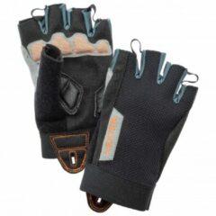 Grijze Hestra - Kid´s Bike Guard Short 5 Finger - Handschoenen maat 7 zwart/grijs