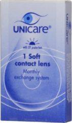 Unicare Maand -4.00 - 1 stuks - Contactlenzen