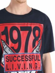 Blauwe Diesel Heren T-shirt Maat M