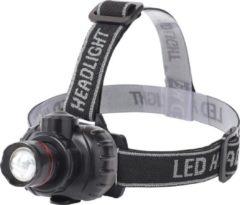 Qualu LED Hoofdlamp - Igia Xixo - Waterdicht - 50 Meter - Kantelbaar - 1 LED - 1.8W - Zwart | Vervangt 10W