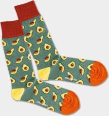 Groene DillySocks Dilly socks Avocado Field Sock