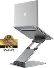 ErgoLine Tall Ergonomische zit-sta bureau laptopstandaard - Volledige verstelbaar laptop frame - Staand en zittend werken