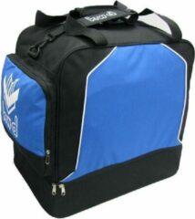 KWD Sporttas Victoria met Schoenenvak - Kobaltblauw/zwart - Maat Senior