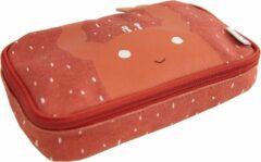 Rode Trixie - Pennenzak Rechthoekig - Mrs. Crab