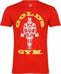 Rode Gold's gym GGTS002 Muscle Joe T-Shirt - Red - S