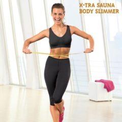 Zwarte X-Tra Sauna Body Slimmer Sportkleding Set
