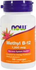 Now Foods, metil B-12 1000 mcg, 100 pastiglie