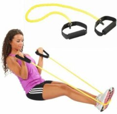 Trendy Sport - Toning Tube - Sleeve - Soft - geel - lichte weerstand - 1.3 m - revalidatie