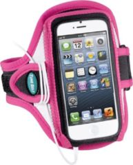 Roze Tune Belt AB87RP Reflective Sport Armband iPhone 5 & 5S Pink