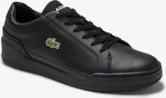 Zwarte Lacoste challenge leather 7-40SMA008002H 2 black 3130