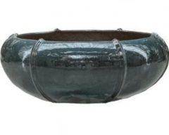 Ter Steege Moda bowl bloempot 55x55x22 cm oceaanblauw
