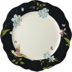 Donkerblauwe Laura Ashley Heritage Bord Schulp Midnight Uni 24,5 cm