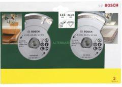 Bosch Diamanttrennscheibe für Fliesen und Baumaterial, 115mm
