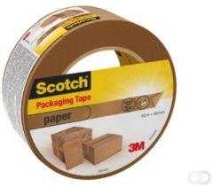 Bruna Verpakkingstape Scotch 48mmx50m bruin papier