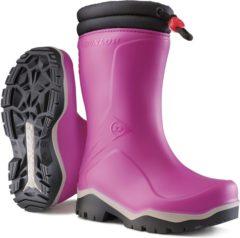 Bruine Dunlop K374061 Blizzard Roze Gevoerde Meisjeslaarzen PVC 31