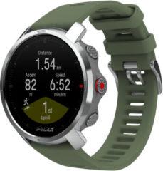 Polar Grit X Outdoor Multisport Horloge M/L Groen/Zilver