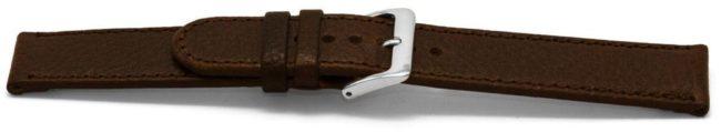 Afbeelding van Bruine Excellent Horlogeband C348 Leder Bruin 12mm + standaard stiksel
