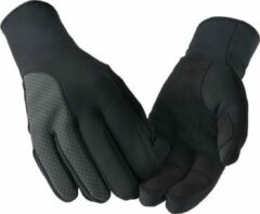 Zwarte Bioracer Gloves One Tempest Pixel Protect Black Size M