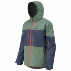 Picture - Picture Object Jacket - Ski-jas maat M, grijs/blauw/zwart